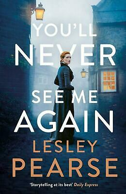 You'll Never See Me Again by Lesley Pearse (English) Paperback Book Free Shippin