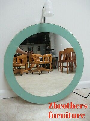 Duravit Michael Graves Design Round Hanging Wall Mirror With Lamp Light