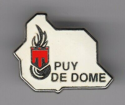 Rare Pins Pin's .. Gendarmerie Nationale Carte Departement Puy De Dome 63 ~El