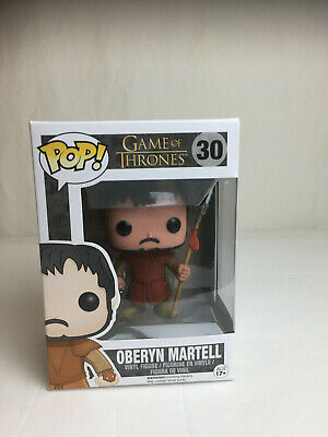 Funko POP Game of Thrones Oberyn Martell Vinyl Figure New Box Sealed #30