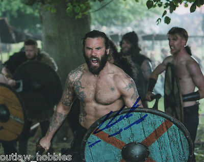 Clive Standen Vikings Autographed Signed 8x10 Photo COA #4