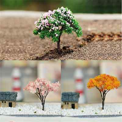 3PCS Lots Mini Tree Miniature Dolls' House Garden Accessory Plant Fairy Ornament
