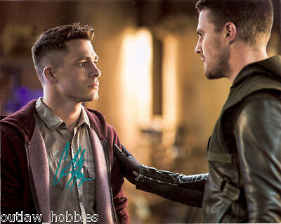 Colton Haynes Arrow Autographed Signed 8x10 Photo COA