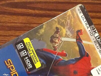 SPIDER-MAN Homecoming  4K UltraHD  Limited Steelbook Edition [ USA ]