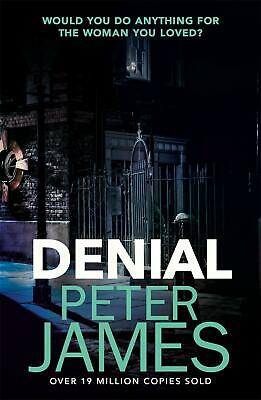 Denial by Peter James Paperback Book Free Shipping!