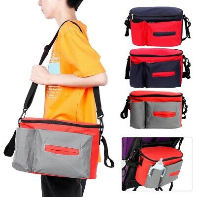 Baby Nappy Bag Portable Diaper Changing Buggy Bag Waterproof Shoulder Mommy
