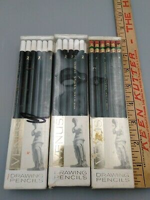 Vintage Venus Drawing Pencils American Pencil Co Usa  Lot 7H & H