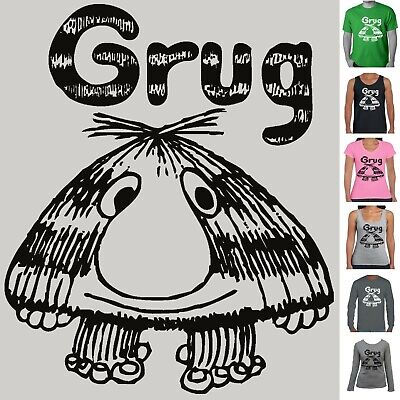 Grug t -shirt Children's book week character Retro 80's costume Funny T-shirts