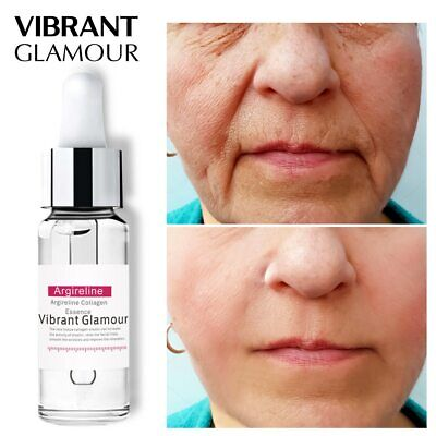 VIBRANT GLAMOUR Argireline Collagen Peptides Face Serum Cream Anti-Aging Wrinkle