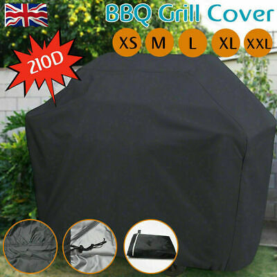 UK 2XS/XS/S/M/L/XL BBQ Cover Waterproof Barbecue Covers Patio Grill Protector L