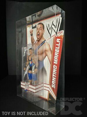 WWE Basic Series 24-34 Action Figure Deflector DC® MOC Display Case