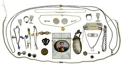 Miscellaneous Costume, Sterling, & Gold Lot