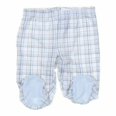 First Impressions Baby Boys  Pants, size NB,  light blue, white,  cotton