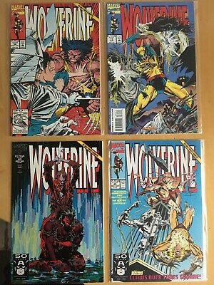 WOLVERINE  #  78.  1st MARVEL SERIES STARTED IN 1988.  X-MEN.
