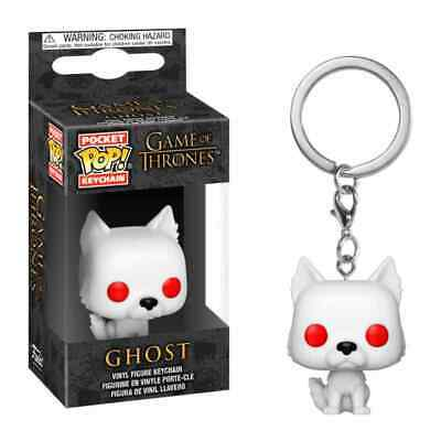 Llavero Pocket POP! Keychain GHOST Juego de Tronos Game Of Thrones