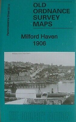 Old Ordnance Survey  Maps Milford Haven 1906 Godfrey Edition Special Offer
