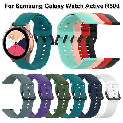Bracelet 20mm Silicone Watch band Strap For Samsung Galaxy Watch Active R500