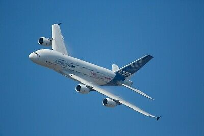 AIRBUS 380 Aviation Airplane  HD POSTER