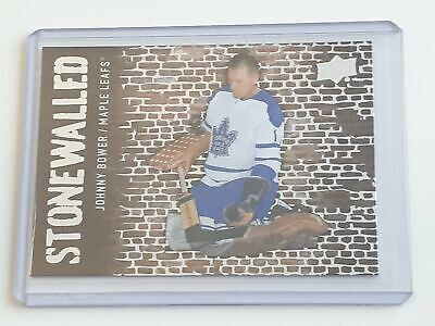SW-46 Johnny Bower - Stonewalled - UD 2018-19 Series 1 One - Upper Deck