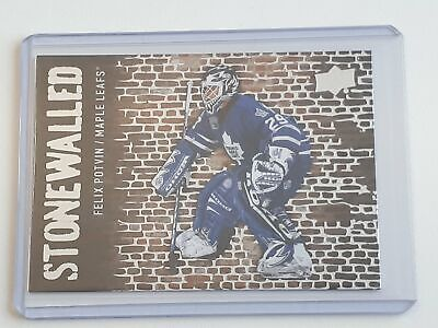 SW-43 Felix Potvin - Stonewalled - UD 2018-19 Series 1 One - Upper Deck