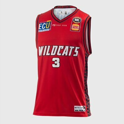 Perth Wildcats 18/19 Authentic Jersey - Nick Kay, NBL Basketball 18/19
