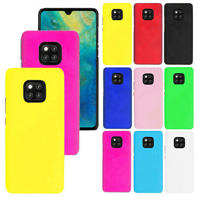 For Huawei Mate 20 Pro Candy Color Snap On Rubberized Matte Hard Case Back cover