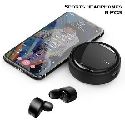 5 Kind Bluetooth Twins Earbud Wireless Music Stereo Earphone For Sport Relax AO