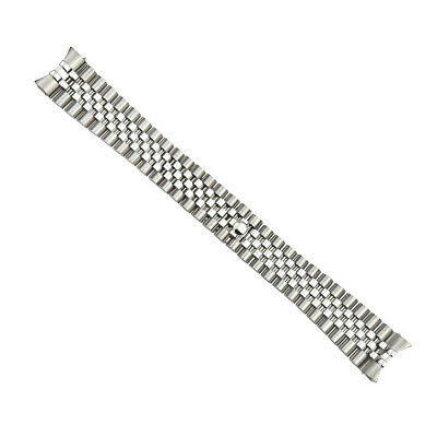 21Mm Jubilee Watch Band For  Rolex 41Mm Datejust Ii 2 Stainless Steel Solid End