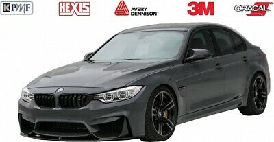 Gloss Black HEXIS Vehicle Wrap Air Release 1520mm Used By The Pro's
