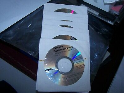 Compaq System Recovey CD's (Windows XP Home) 8 CD Set, 2002, 2003