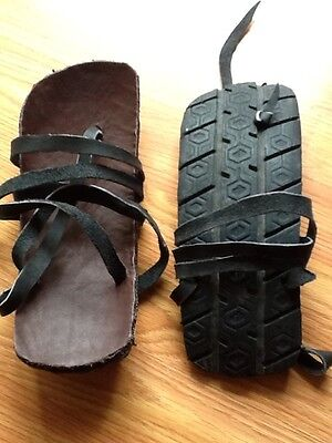 Handcrafted Traditional Tarahumara Huaraches Sandals Recycled Products