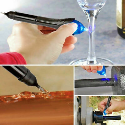 1X 5 Second Fix pen UV Light Repair Glue Refill Liquid Welding Multi-Purpos Q0T6