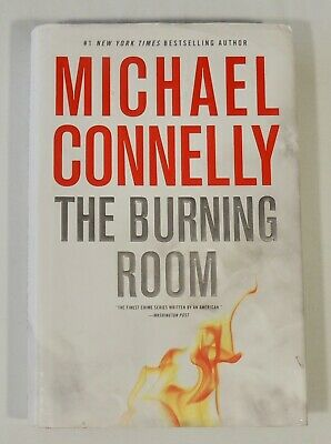 Harry Bosch: The Burning Room by Michael Connelly (2014 Hardcover) First Edition