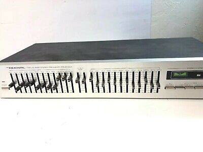 Realistic 31-2009 Twelve (12) Band Stereo  Frequency Equalizer
