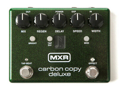 Spitzen MXR Carbon Copy Deluxe  Analog Delay Effektpedal mit bis zu 1200ms Delay