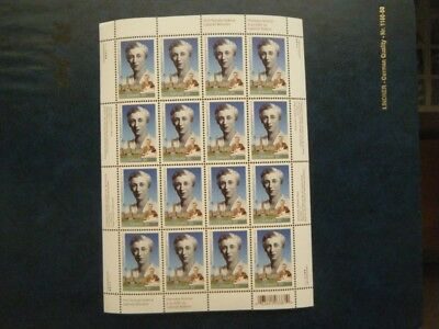 Canada#2112 MNH Pane of 16 'Ellen Fairclough' Lot#AA19