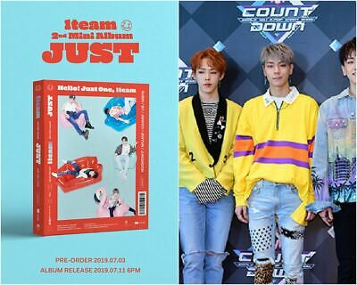 1TEAM: JUST* 2nd Mini Album CD+Full Package Poster (Live works) K-POP