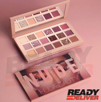 Brand New 18 Colors Huda Beauty Nude Matte Eyeshadow Palette 2019 UK
