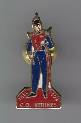 Rare Pins Pin's .. Gendarmerie Gr Garde Republicaine Caserne Verines Paris 75~El
