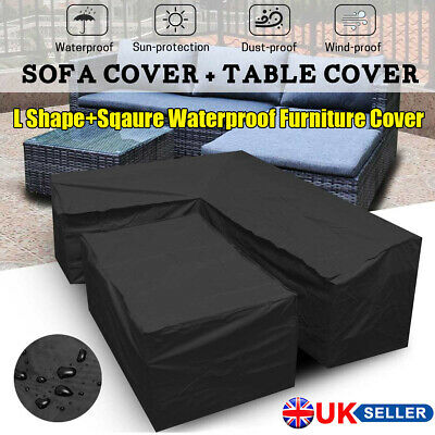 Heavy Duty Waterproof Patio Garden Furniture Cover Outdoor Dust Proof Covers UK
