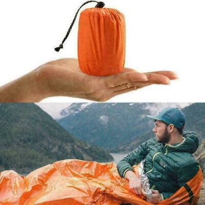 1PC Outdoor First-Aid Survival Emergency Tent Blanket Sleep Camping She Bag R3U3