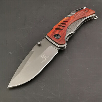 5Cr13mov Blade Folding Knife Tactical Outdoor Survival Camping EDC Tool Knives