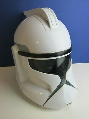 star wars CLONE TROOPER VOICE CHANGER HELMET cosplay HASBRO adult kids 81M