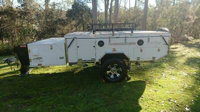 2017 Blue Tongue Camper Trailer Overland XD Series II Double Fold Off Road