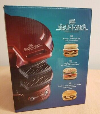 Stack a Snack All In One Burger Bagel Muffin Toaster Grill by Lakeland