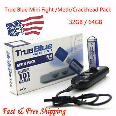 True Blue Mini -Fight / Meth / Crackhead Pack for PlayStation Classic Games -AM