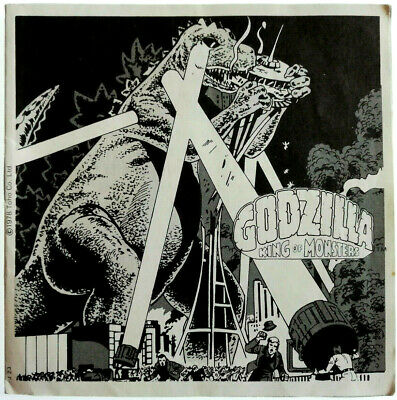 """3x VIEW MASTER REEL """" GODZILLA - KING of MONSTERS """" + BOOKLET / SPECIAL / J23"""