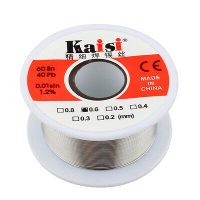 Soldering Solder Wire Fluxed Core Electronics 60/40 Tin Lead Flux 50g 0.6mm