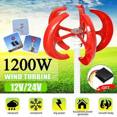 MINI SMALL HOME vertical axis wind turbine generator 3KW EOLO 3000