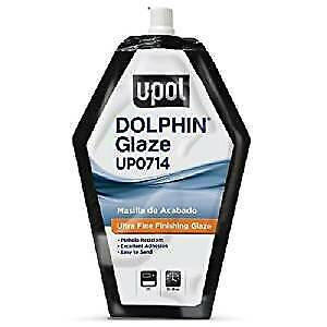 U-POL Dolphin Glaze 440ml Self Levelling Glazing Putty UPOL Finishing Filler